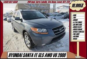 2009 Hyundai SANTA FE GLS AWD V6 CUIR TOIT