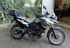 BMW 700 GS, 5,500 miles, loads of extras