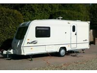Bailey Pageant Monarch series 5 2006 two berth touring caravan, equipped with motormover very modern
