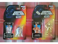 Star Wars R2-D2 and C3PO Figures, Guerre Stellari, Italian versions RARE