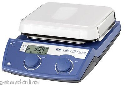 New Ika C-mag Hs7 Ikamag Magnetic Hotplate Stirrer 100-1500rpm 3487001