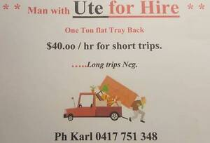 * * * Man with UTE for Hire * * * Atherton Tablelands Preview
