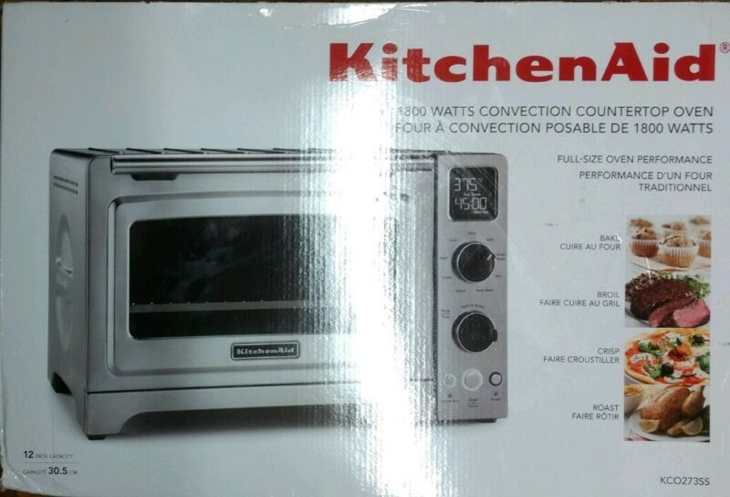 KitchenAid Countertop Convection Toaster/Pizza Oven Stainless Steel KCO273SS