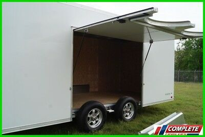 IN STOCK ATC Raven 8.5 X 24 Aluminum Enclosed Car Hauler Cargo Trailer