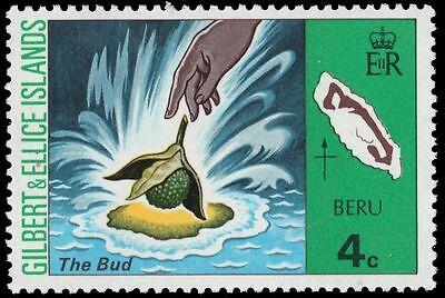 """GILBERT & ELLICE 245 (SG252) - Beru Island """"The Bud"""" (pa8792)"""