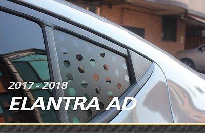Quota Glass Sticker for HYUNDAI 2017 2018 ELANTRA (AD)