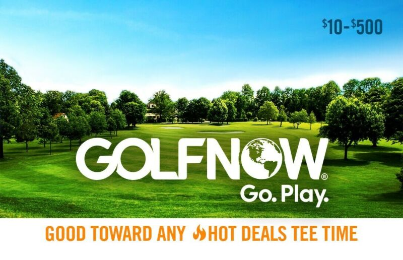 Golf Now $500 Gift Card - Use Online Or On The App!