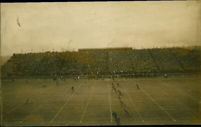 1908 Postcard Ferry Field Football KICKOFF Michigan Wolverines VS Penn Quakers