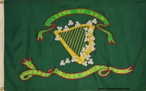 SONS OF ERIN FLAG  3