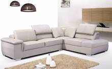 【Brand New】 LD496 Top Grain Leather Corner Sofa Nunawading Whitehorse Area Preview