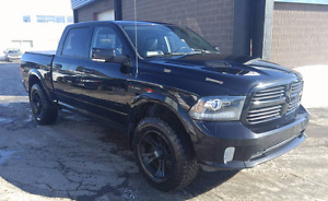 Ram 1500 sport 2013, crew cab, lift kit, full equip, 4x4