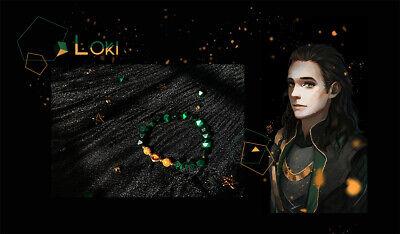 Thor Original Costume (Marvel Superhero Handmad Loki Thor mini-snake Bracelet Chain Daily)