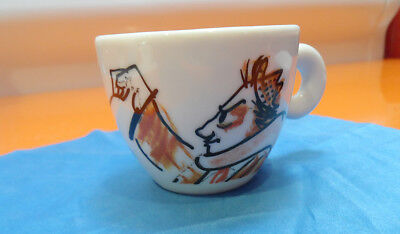 ILLY GINGER & FRED 1993 ESPRESSO CUP  for 1993 NYC Film Forum