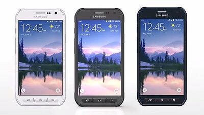 Unlocked Samsung Galaxy S6 Active Sm G890a 32Gb Camo Gray  Blue White Excellent