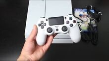 Playstation 4 glacier white 500gb, comes with 2 controllers, 2 games Ashfield Ashfield Area Preview