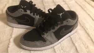 Jordan 1 rare limited release low phats. Black and white.