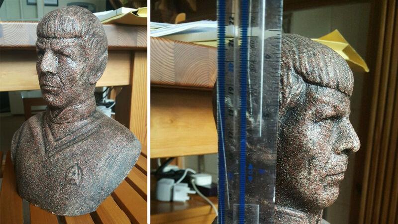 Plaster Bust of Spock