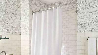 Duschvorhänge sind sehr einfach zu reinigen