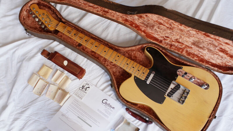 Vintage 1952 Fender Telecaster Guitar
