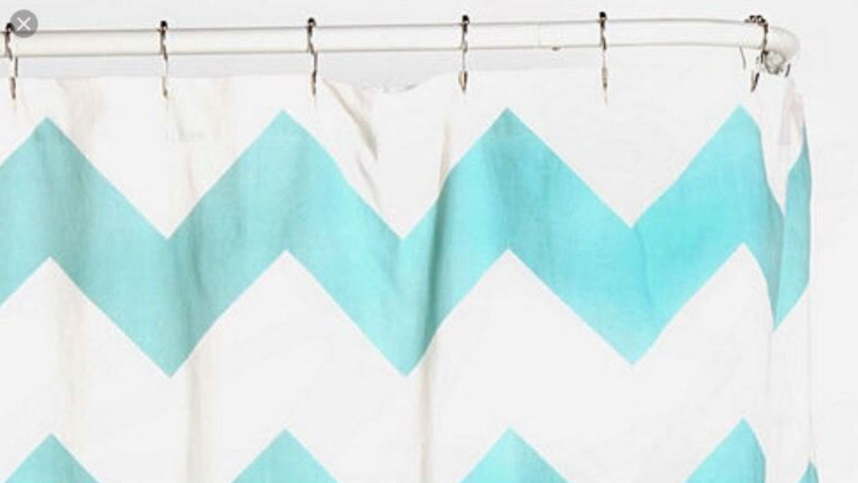 Beautify a Shower Curtain