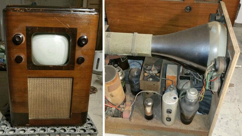 Pre-War Cossar 54 Television Set