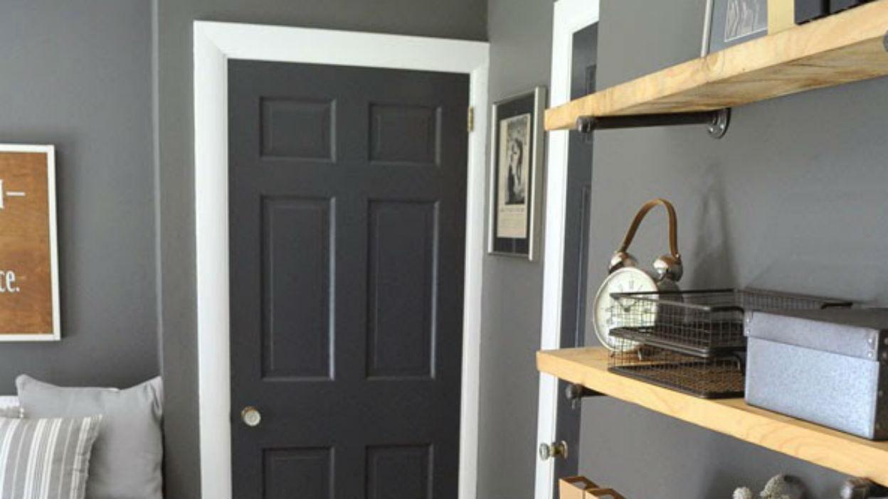 Paint Doors a Dark Colour