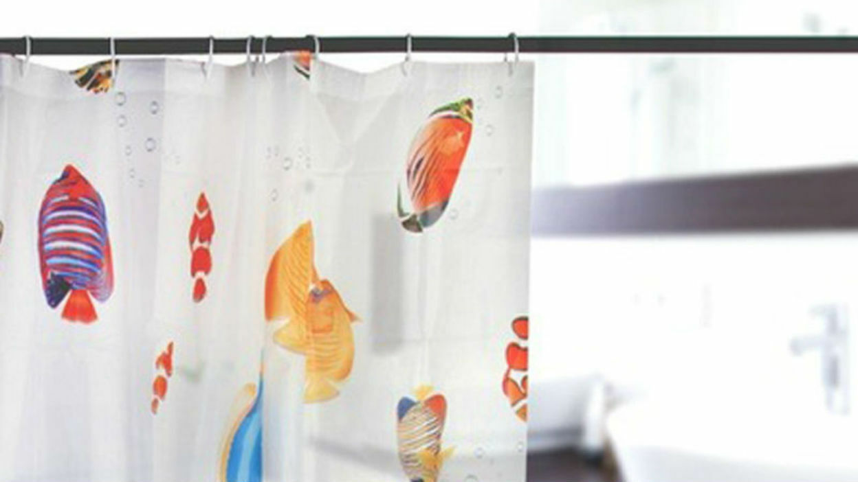 Update Your Shower Curtain