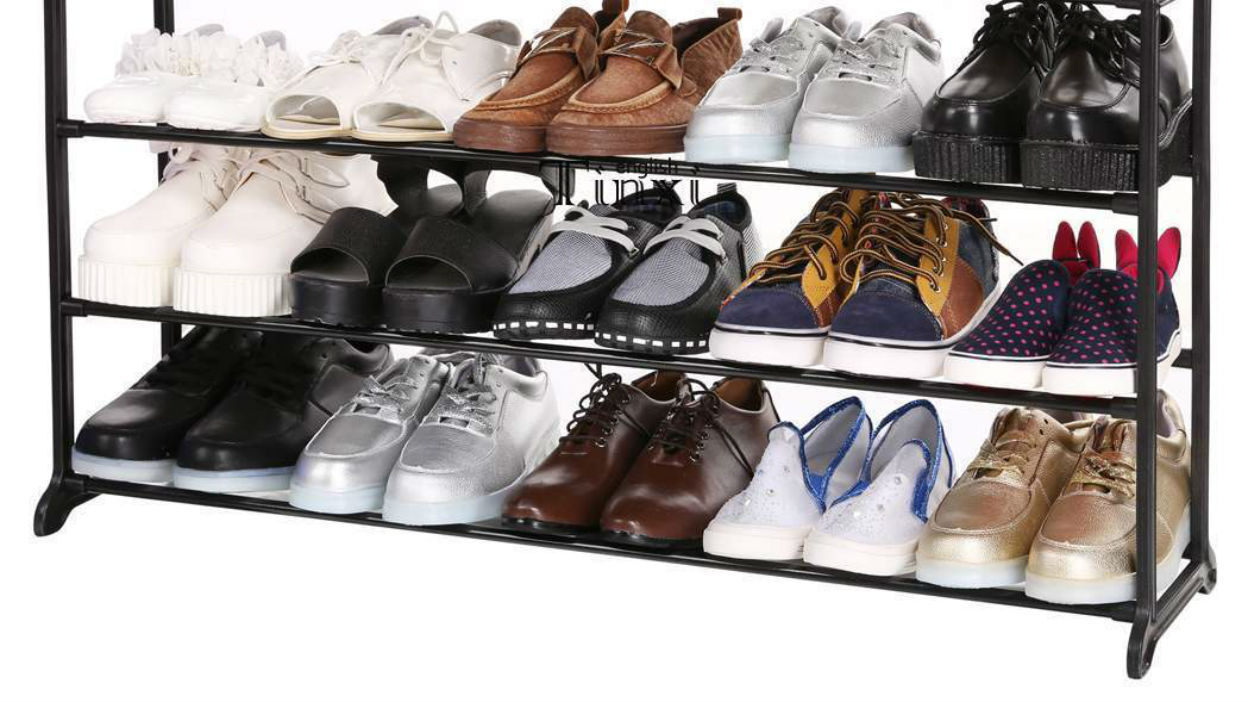 Shoe Storage On the Shelf