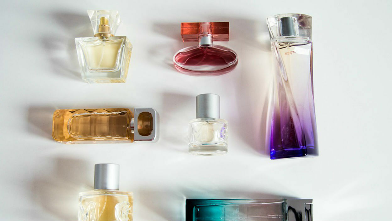 Empty Perfume And Aftershave Bottles