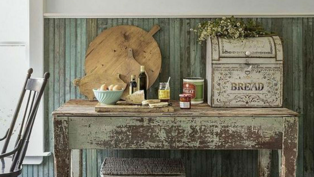 Opt for a Weathered Table