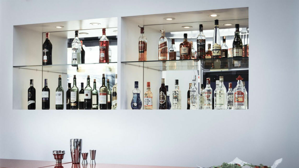 Say Hello To the 'At-Home' Bar