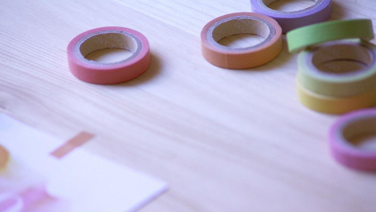 Use Coloured Tape