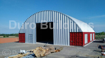 Durospan Steel 56x40x16 Metal Building Connex Shipping Container Cover Direct