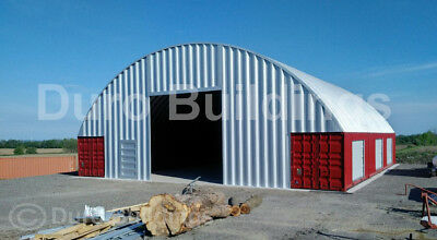 Durospan Steel 56x40x16 Metal Building Cover Conex Container Roof Kits Direct
