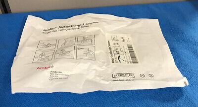 Ambu 342150000 Aurastraight Silicone Single Use Laryngeal Mask Sterile - 1 Each