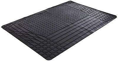 HEAVY DUTY RUBBER CAR BOOT LINER MAT UNIVERSAL CUT TO FIT NON SLIP PROTECTOR PET
