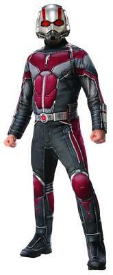 MARVEL Ant-Man ATW Deluxe Kostüm Herren Karneval Halloween Ameisemann Superheld (Ant Man Kostüm)