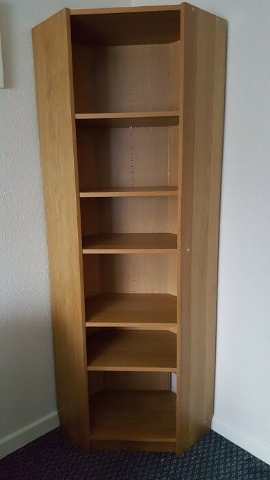 Corner Unit Bookcase Shelving 5 West Moors
