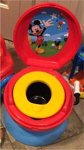 First Years Mickey Mouse Potty - never used
