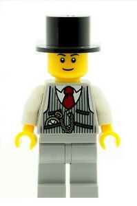 LEGO  Groom Best Man Minifig in Top Hat  & Waistcoat with Pocket Watch  NEW