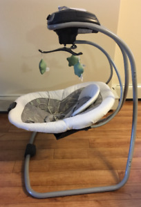 NEW PRICE: Graco Simple Sway Baby Swing