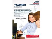 Volunteer Caseworkers required in Cornwall / Penzance / Lizard for the RAF Association