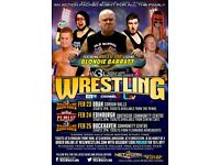 American Wrestling - Live in Edinburgh
