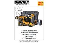 Dewalt SDS & Hammer drill kit