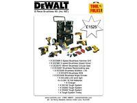 Dewalt 8 piece brushless kit