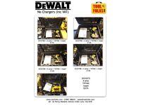Dewalt Drill sets ( No chargers)