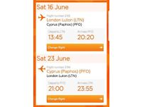 (£561)Flight tickets Luton To Paphos