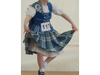 Highland dance national outfit