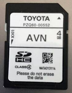 Toyota Sat Nav GPS MAP.  AVN PZQ60-00552 Jacana Hume Area Preview