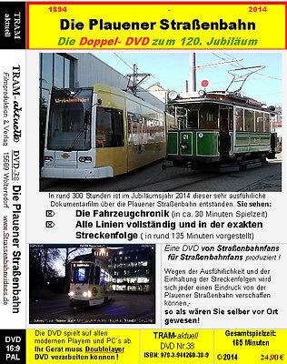 Die Plauener Straßenbahn / Die mega ausführliche Doppel DVD zeigt alles !